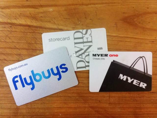デービッドジョーンズやマイヤーのカード