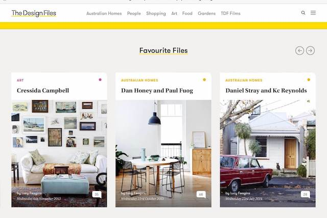 Design Filesサイトの画像