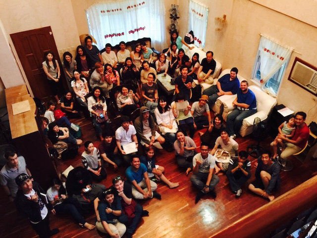 たくさんの留学生が集った宿舎