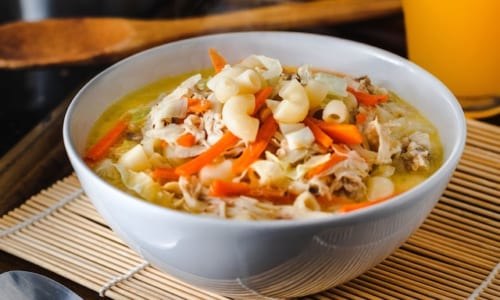 おいしそうなスープ