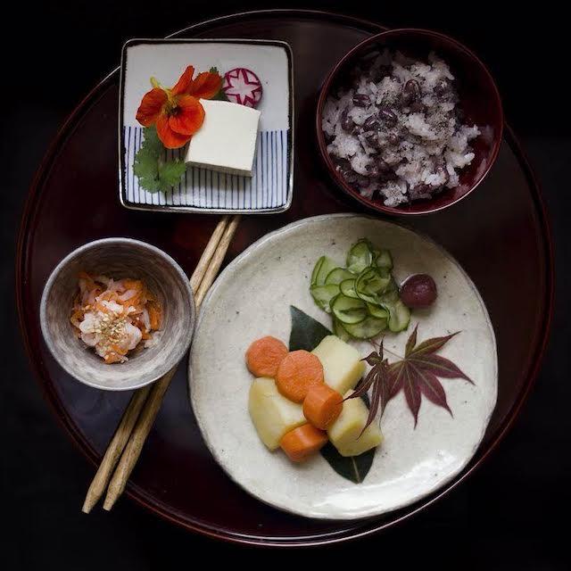 和食と美しいお皿
