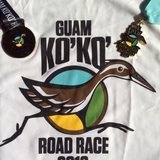 グアムのシャツとメダル